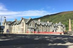 Dunalastair Hotel, Kinloch Rannoch Scotland - Internal Sealant to 55 bedrooms Sept 2016