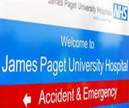 James Paget Hospital Thumb