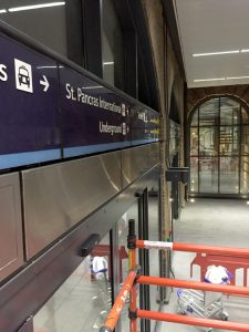 Mastic Sealant Installation Kings Cross Station