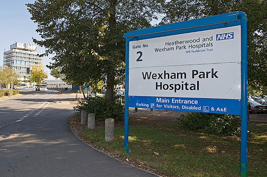 External Cut Out and Re-seal Wexham Park Hospital